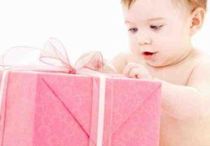 Cosa regalare ad un neonato