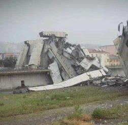 Tragedia a Genova, crolla il ponte Morandi: si parla di oltre 30 morti