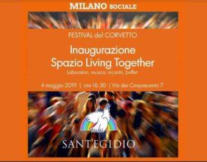 Living Together, un nuovo spazio di Sant'Egidio a Corvetto