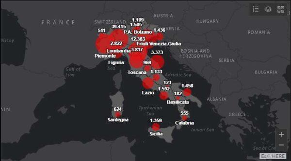 Coronavirus Italia, bollettino del 28 marzo 2020: 889 morti, scende il numero dei nuovi positivi