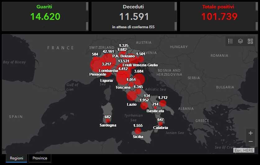 Coronavirus Italia, ultimo bollettino: 812 morti, in calo il numero dei nuovi positivi